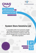 CHAS CERTIFICATE 2017 SYSTEM STORE SOLUTIONS LTD_001