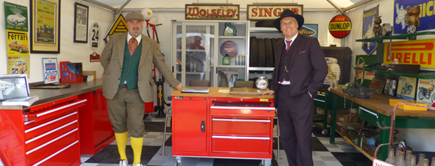 System Store at Goodwood Revival 2013