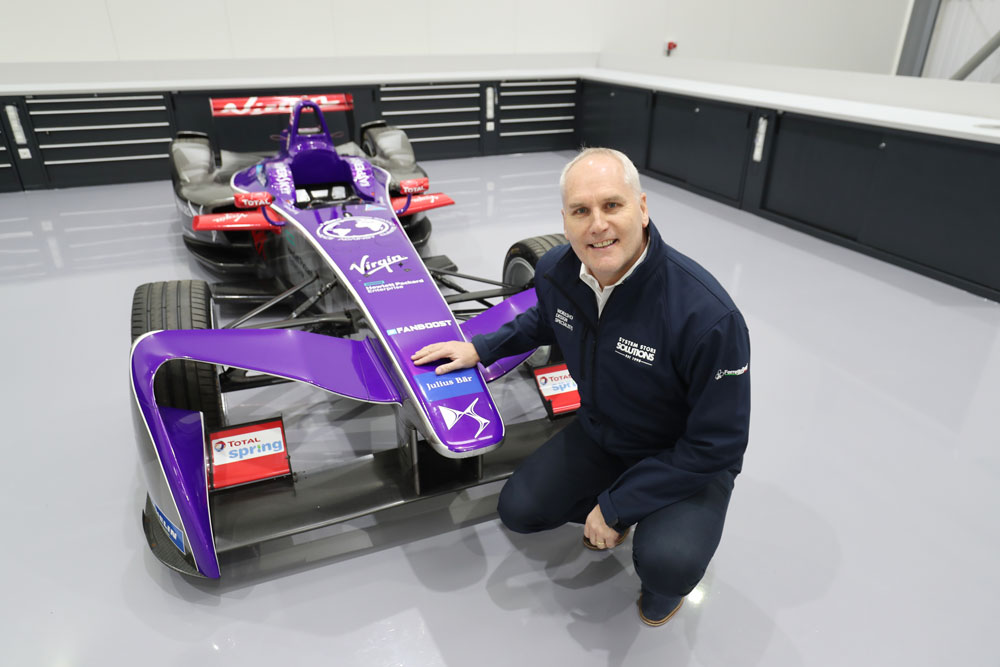 DS Virgin Racing applies the three P's  to race bay layout