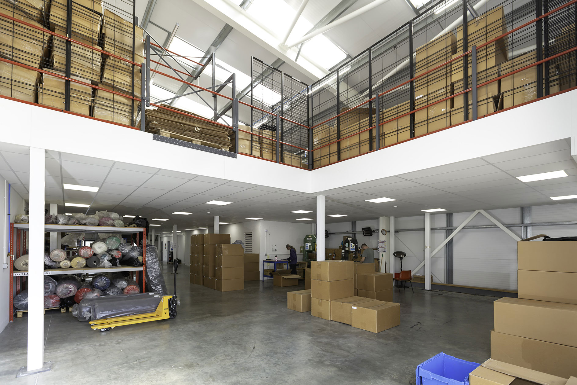 Mezzanine gives Adjustoform room to grow
